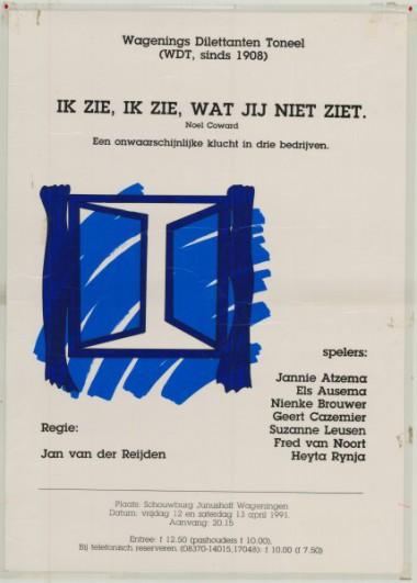 1991 Regie: Jan v.d. Reijden Auteur: Noel
