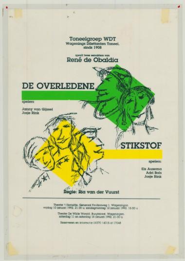 1993 Regie: Ria vd Vuurst Auteur: René de Obaldia
