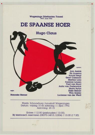 1992 Regie: Hanneke Riemer Auteur: Hugo Claus