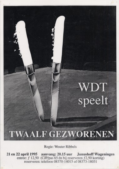 1995 Regie: Wouter Ribbels Auteur: Reginald Rose