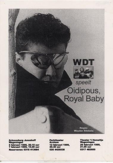 1999 Regie Wouter Ribbels Auteur: Rob de Graaf