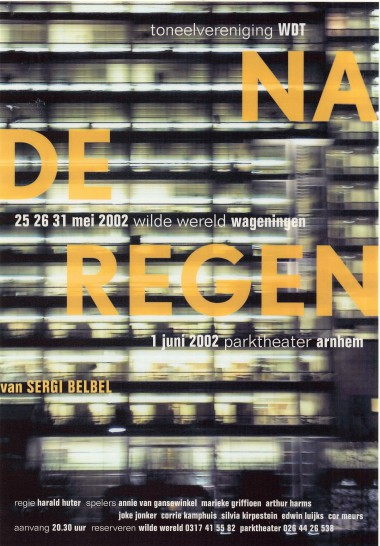 2002 Regie: Harald Hüter Auteur: Sergi Belbel