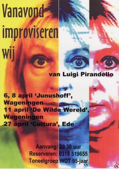 2003 Regie: Daan Overeem Auteur: Luigi Pirandello
