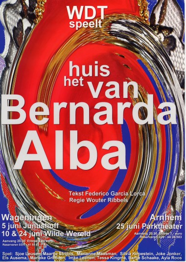 2004 Regie: Wouter Ribbels Auteur: Federico Garcia Lorca