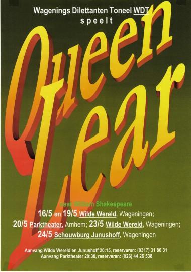 2006 Regie: Annemiek Verhoeven Auteur: William Shakespeare