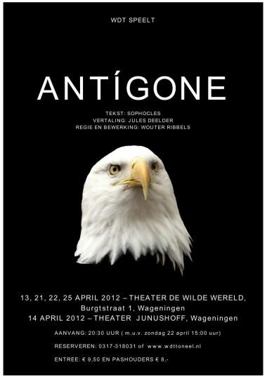 2012 Antigone Regie: Wouter Ribbels Auteur: Sophocles