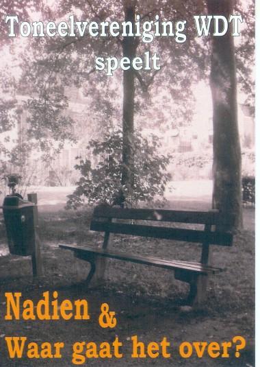 2008 Regie: Annemiek Verhoeven Auteurs: GerardJan Rijnders/Bert Edelenbos en Wim T Schippers