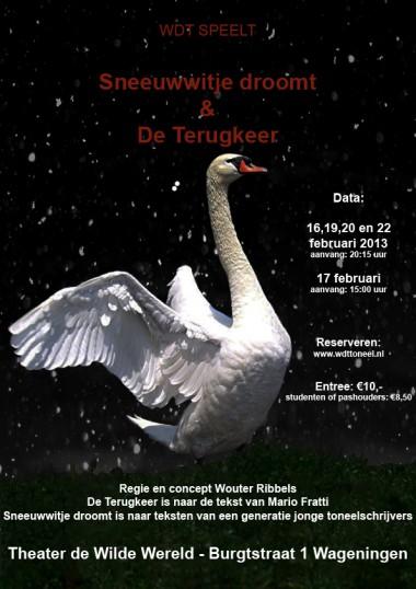 2013 Regie: Wouter Ribbels Auteur: WDT & Mario Fratti