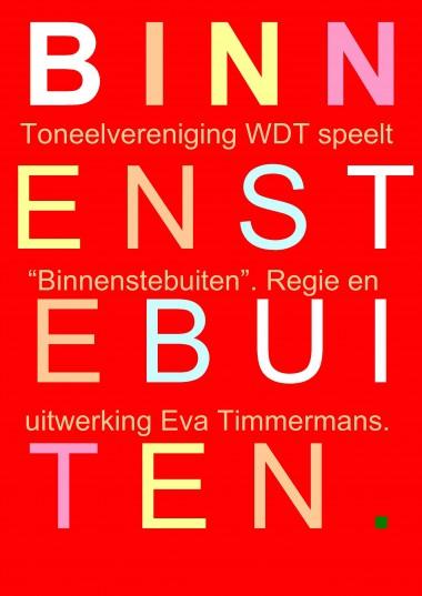 2011 Regie: Eva Timmermans; Tekst WDT