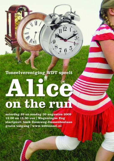 Bewerking van Alice, Alice, Alice dorr Wouter Ribbels