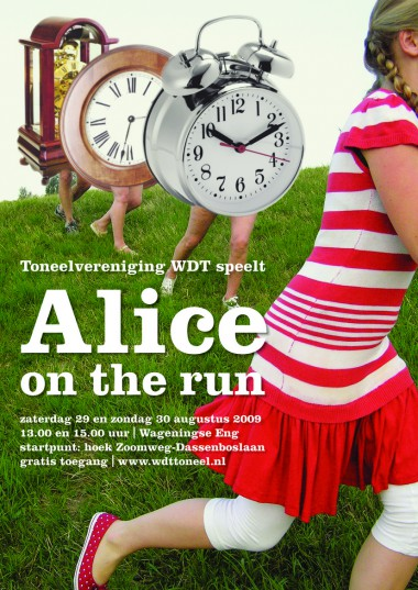 Alice on the run